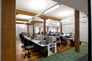 the strand heritage open plan office