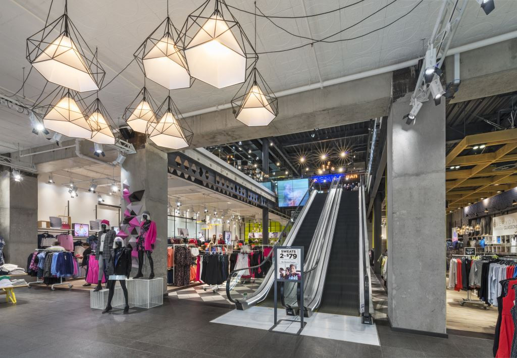 312 Lambton Quay interior retail space – photo by Grant Sheehan